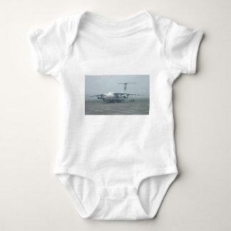 Air Koryo at Pyongyang air gate DPRK Il-76 TD Baby Bodysuit