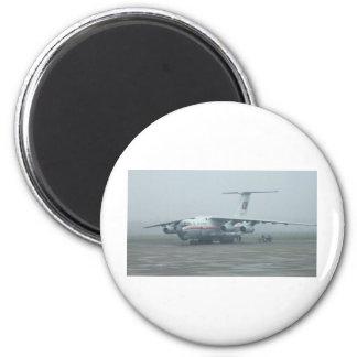 Air Koryo at Pyongyang air gate DPRK Il-76 TD Magnet