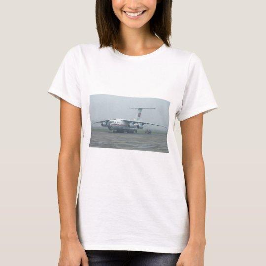 Air Koryo at Pyongyang air gate DPRK Il-76 TD T-Shirt