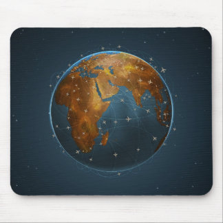 Air Lines 2 Mouse Pad