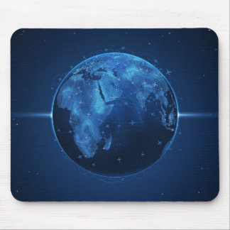 Air Lines Mouse Pad