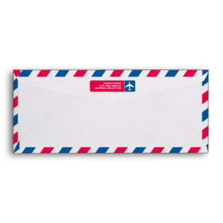 Air Mail #10  Envelope