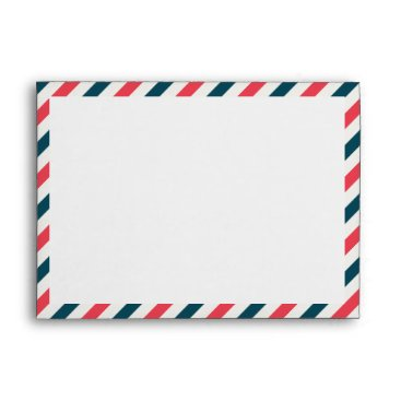 Air Mail Red & Blue - Envelope