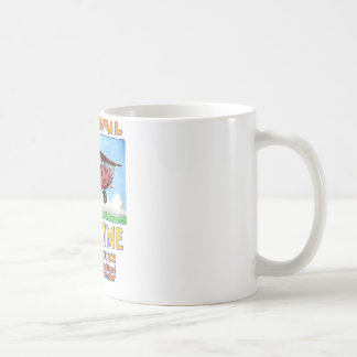Air Mail Saves Time Coffee Mug