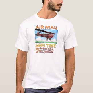 Air Mail Saves Time T-Shirt