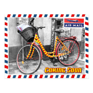 Air Mail Service Coming Soon . . . Post Cards