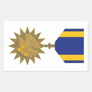 Air Medal Rectangular Sticker