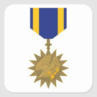 Air Medal Square Sticker