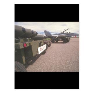 Air-missiles._Military Aircraft Postcard