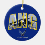 Air National Guard F-16 Ornament