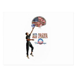 Air Obama Postcard