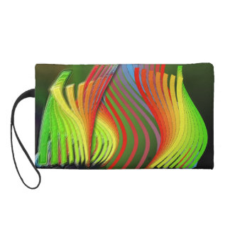 air of accordion wristlet