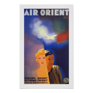 Air Orient ~ Euorpe - Orient Print