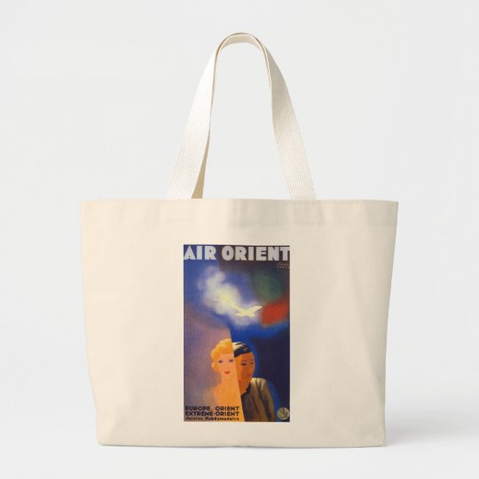 Air Orient ~ Europe - Orient Large Tote Bag
