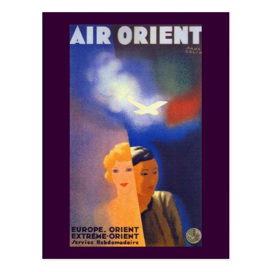 Air Orient ~ Europe - Orient Postcard