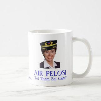 "AIR PELOSI:  ""Let Them Eat Cake"" Coffee Mug"