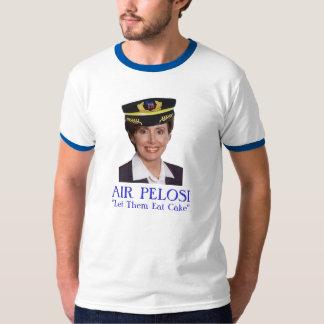 """AIR PELOSI: """"Let Them Eat Cake"""" T-Shirt"""