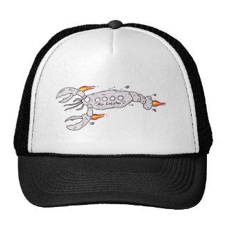 Air plane lobster trucker hat