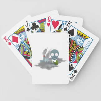 Air Pollution Bicycle Playing Cards