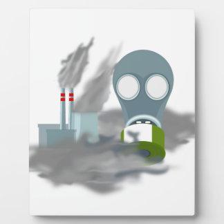 Air Pollution Plaque