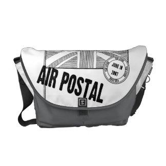 Air Postal Postage Stamp Messenger Bag
