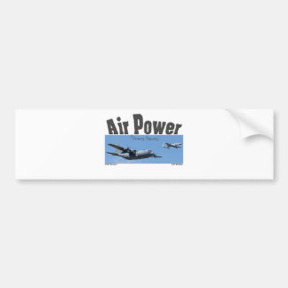 AIR POWER BUMPER STICKER