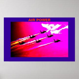 Air Power Poster