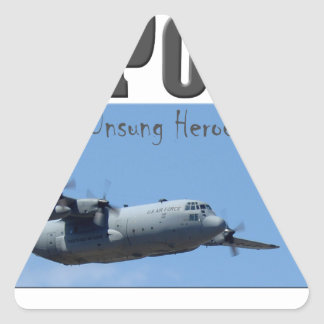 AIR POWER TRIANGLE STICKER