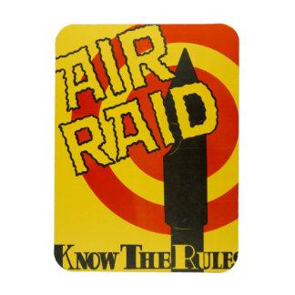 Air Raid magnet