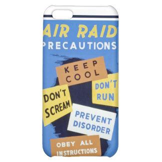 Air raid precautions sign (1943) case iPhone 5C cases