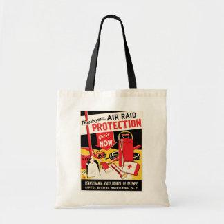Air Raid Protection Tote Bag