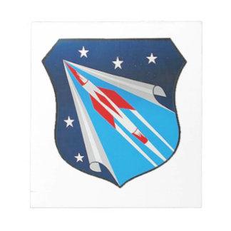 Air Research and Development Command Emblem Memo Pad