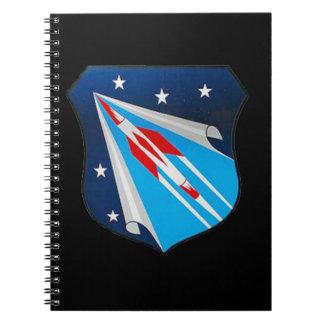 Air Research and Development Command Emblem Spiral Notebook