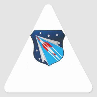Air Research and Development Command Emblem Triangle Sticker