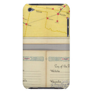 Air Route from Los Angeles to Columbus Case-Mate iPod Touch Case