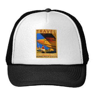 Air, Sea and Land Travel Cap Trucker Hats
