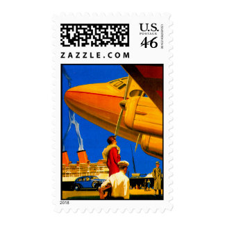 Air Sea and Land Travel Custom Postage