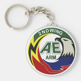 Air Self Defense Force 2nd Air Wing Chitose Keychain