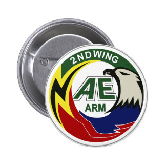 Air Self Defense Force 2nd Air Wing (Chitose) Pinback Button