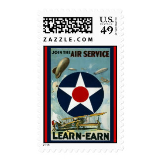 Air Service Stamp
