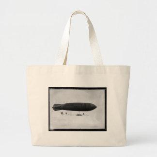 Air ship jumbo tote bag