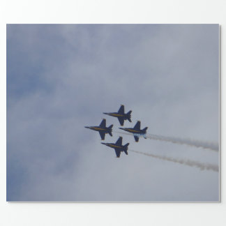 Air Show 4 Wrapping Paper