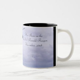 Air Show Two-Tone Coffee Mug