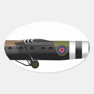 Air Speed Ltd. Horsa Oval Sticker