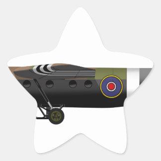 Air Speed Ltd. Horsa Star Sticker