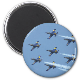Air squadron Breitling on airshow Magnet