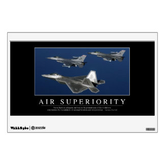 Air Superiority: Inspirational Wall Sticker