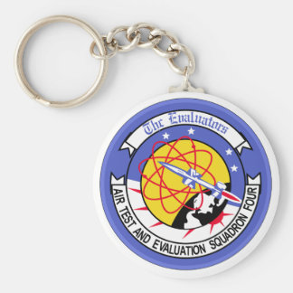Air Test And Evaluation Squadron Four Basic Round Button Keychain