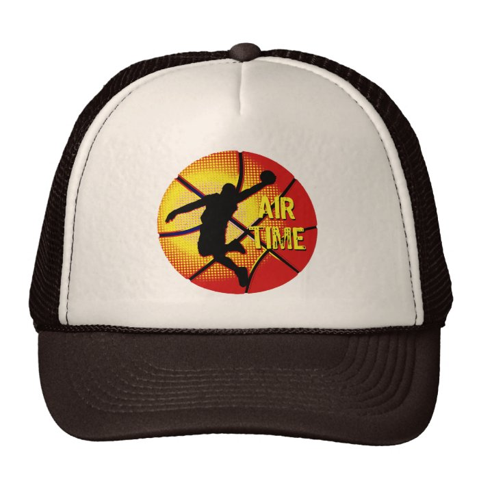 Air Time Basketball Player Trucker Hat