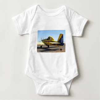 Air tractor aircraft baby bodysuit